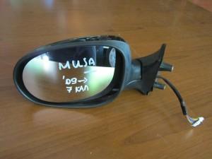 Fiat Idea 2006-2012 Lancia Musa 2008-2012 ηλεκτρικός καθρέπτης αριστερός μαύρος (7 καλώδια)