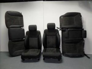 Mercedes ML 164 2005-2011 σέτ καθίσματα με airbag εμπρός-μαύρο-γκρί όχι πίσω