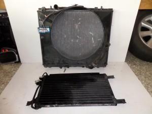Mitsubishi Pajero 2001-2007 2.5cc diesel ψυγείο κομπλέ (νερού-air condition)