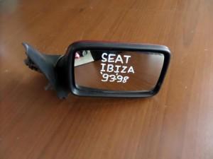 Seat Ibiza 1993-1998 μηχανικός καθρέπτης δεξιός μπορντό