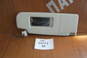 VW Golf 5 2004-2008 αλεξήλιο δεξί
