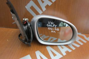 VW Golf 5 2004-2008 ηλεκτρικός καθρέπτης δεξιός ασημί