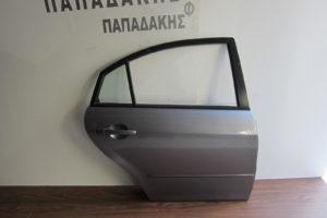 Mazda 6 2002-2008 πόρτα πίσω δεξιά ασημί σκούρο 5πορτο