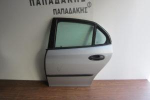 Saab 9-3 2003-2007 πόρτα πίσω αριστερή ασημί