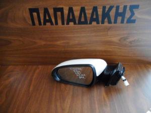 Hyundai i30 2018-> αριστερός καθρέπτης ηλεκτρικά ανακλινόμενος άσπρος 8 ακίδες