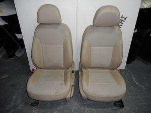 Opel Insignia 2008-2017 καθίσματα εμπρός ζεύγος μπεζ ηλεκτρικά