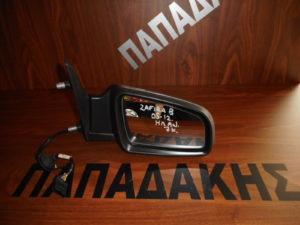 Opel Zafira B 2005-2012 ηλεκτρικά ανακλινόμενος καθρέπτης δεξιός γκρι 7 καλώδια