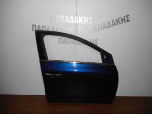 Renault Megane 2016-2020 πόρτα εμπρός δεξιά μπλε σκούρο