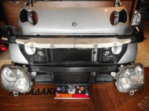Μούρη Smart ForTwo w450 2002-2007 ασημί