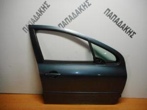Peugeot 307 2001-2008 πόρτα εμπρός δεξιά γκρι