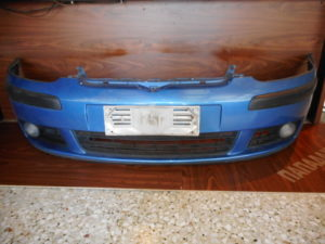 VW Golf 5 2004-2008 προφυλακτήρας εμπρός με προβολείς μπλε