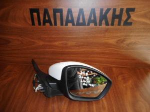 Peugeot 208/2008 2014-2019 ηλεκτρικός καθρέπτης δεξιός άσπρος 9 καλώδια