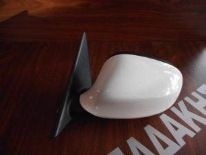 Bmw S3 E90 2008-2012 ηλεκτρικός καθρέπτης αριστερός άσπρος 5 ακίδες
