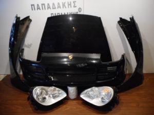 Porsche Cayenne 2003-2007 μούρη κομπλέ μαύρη