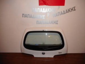 Fiat Seicento 1998-2007 οπίσθια πόρτα άσπρη
