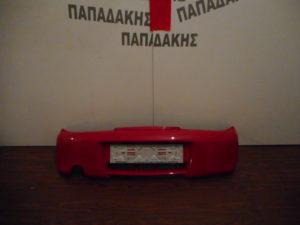 Fiat Seicento Sporting 1998-2007 πίσω προφυλακτήρας κόκκινος