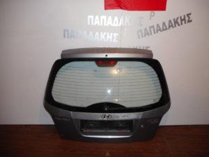 Hyundai Atos Prime Mala 2003-2007 οπίσθια πόρτα ασημί σκούρο