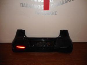 Mitsubishi Colt 2004-2008 πίσω προφυλακτήρας μαύρος 3πορτο