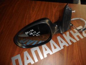 Lancia Delta 2008-2019 ηλεκτρικός ανακλινόμενος καθρέπτης αριστερός μαύρο 9 καλώδια