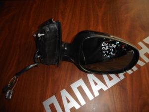 Lancia Delta 2008-2019 ηλεκτρικός ανακλινόμενος καθρέπτης δεξιός μαύρο 11 καλώδια