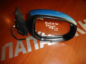 Suzuki Splash/Opel Agila 2008-2014 ηλεκτρικός καθρέπτης δεξιός μπλε