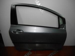 Toyota Yaris 2006-2011 δεξιά πόρτα δύθυρη ασημί σκούρο