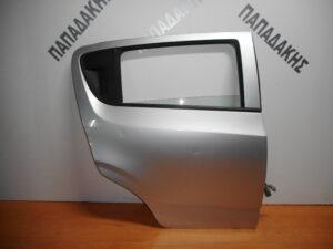 Chevrolet Aveo 2008-2012 πίσω δεξιά πόρτα ασημί