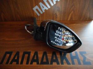 Peugeot 208/2008 2012-2019 ηλεκτρικός ανακλινόμενος καθρέπτης δεξιός νίκελ 11 καλώδια