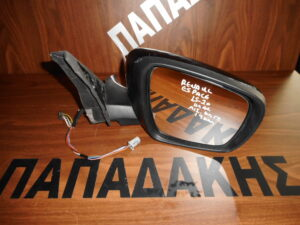Renault Espace 2015-2020 ηλεκτρικός ανακλινόμενος καθρέπτης δεξιός μαύρος 19 καλώδια