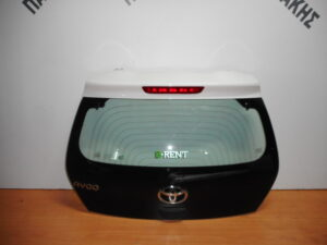 Toyota Aygo 2014-2020 οπίσθια πόρτα (5η) άσπρη