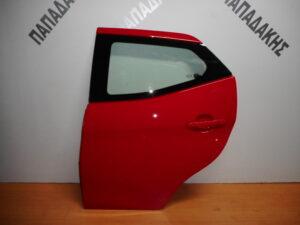Toyota Aygo 2014-2020 πίσω αριστερή πόρτα κόκκινη
