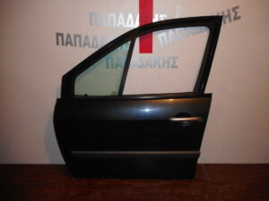 Renault Scenic 2003-2009 εμπρός αριστερή πόρτα ανθρακί